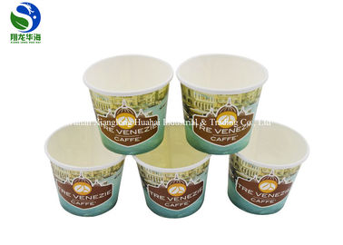 Eco Friendly Organic 12oz PLA Coated Paper Cup Disposoble And Compostable