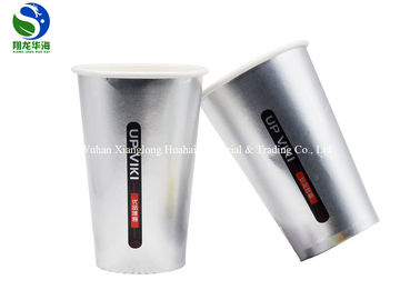 Bulk Custom Logo Printed Cold Drink Paper Cups Eco Friendly Single Wall Disposable